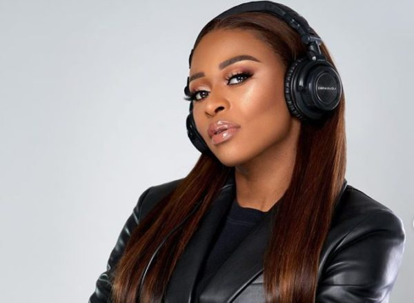 DJ Zinhle Returns To Work Few Weeks After Welcoming Baby Asante.