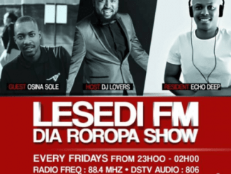 DOWNLOAD Echo Deep #DiaRoropa Mix on Lesedi FM 01.09.19 Mp3