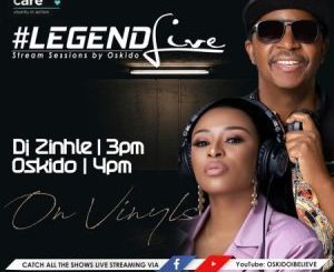 Dj Zinhle – Legend Live Mix (Presented by Oskido) mp3 download