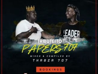 DOWNLOAD Thabza 707 Tribute Mix To Papers 707 Mp3