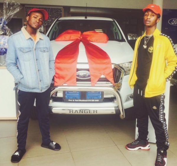 Emtee Buys His Father A Car (Photos)