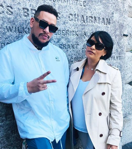 See Photos: AKA and Mom, Lynn Forbes bond in New York