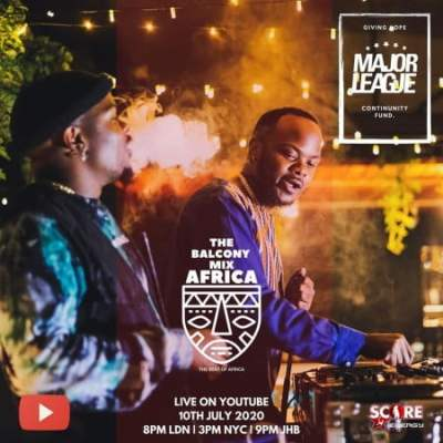 Major League – Amapiano Live Balcony Mix 23