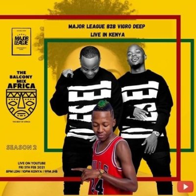 Vigro Deep & Major League Djz – Amapiano Live Balcony Mix B2B (S2 EP4)