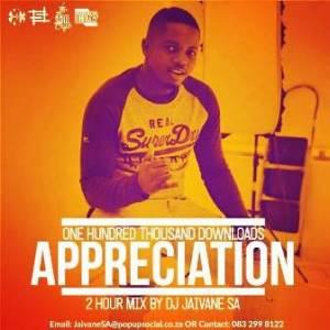 DJ Jaivane – 100K Downloads Appreciation 2Hour Live Mix