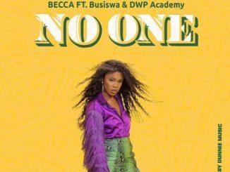Becca – No One ft. Busiswa & DWP Academy