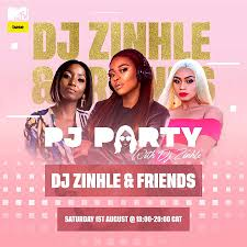 pj party with dj zinhle