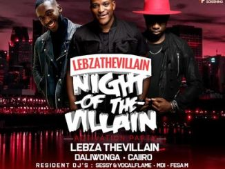 Lebza TheVillain – YTKO 30 Oct Mix