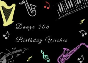 Danzo 206 – Birthday Wishes