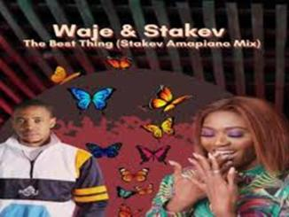 Waje Ft. Stakev – The Best Thing [Stakev Amapiano Mix]