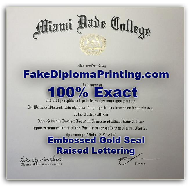 Fake College Diploma Samples 100 Exact Replicated Diplomas
