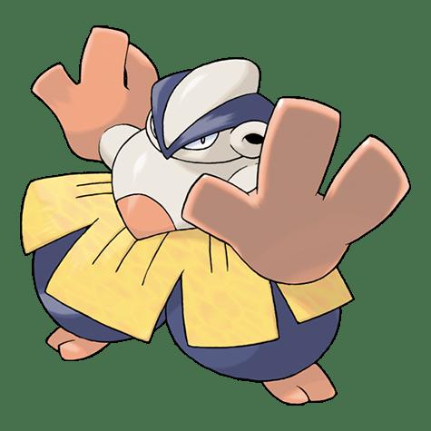 Pokemon 297 Hariyama