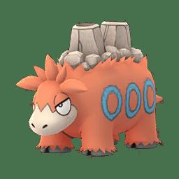 Pokemon Go 323 Camerupt Man