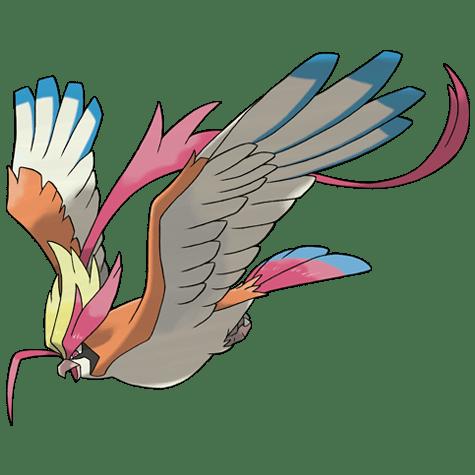 Pokemon 018 Pidgeot Mega