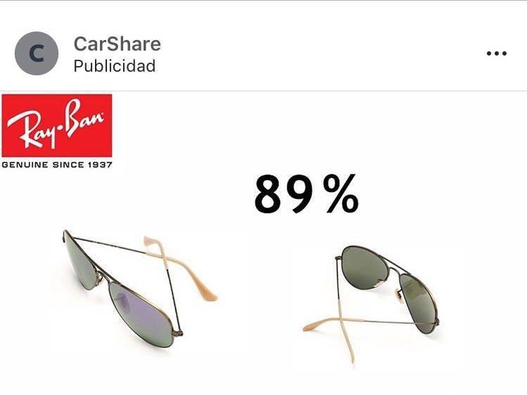 CarShare - estafa - publicidad a tienda online falsa home