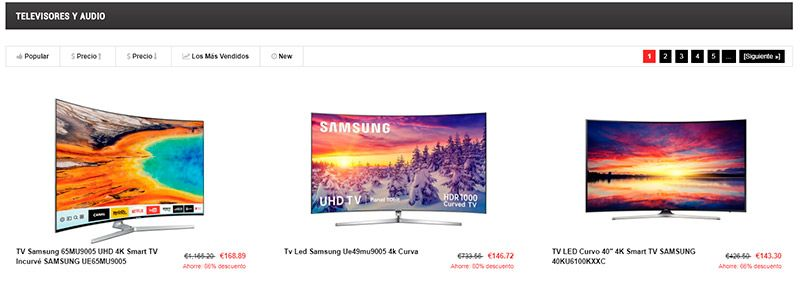 Esdoutlet.com Fake Shop Scam Outlet Conforama Tv