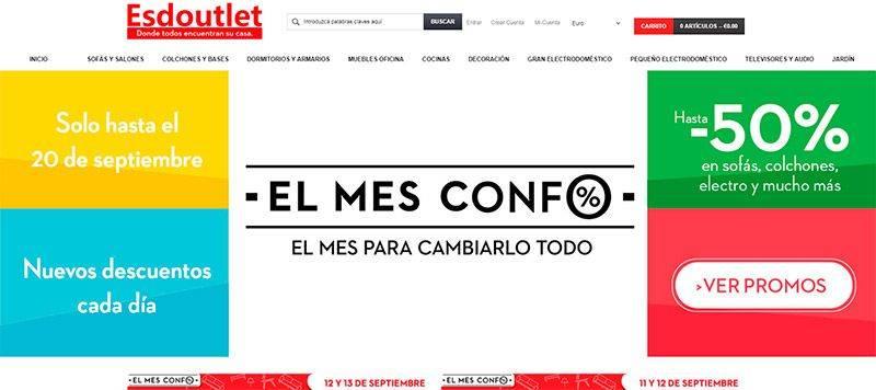 Esdoutlet.com Tienda Online Falsa Estafa Conforama