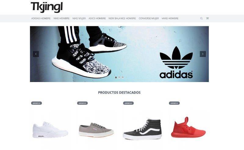 tkjingl.es tienda falsa de zapatillas de marca