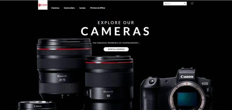 cawellreceived.ga Tienda Online Falsa Productos Canon