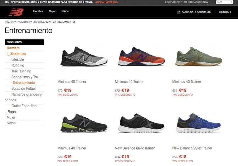 Newbalanceazapato.com Tienda Falsa New Balance.producto