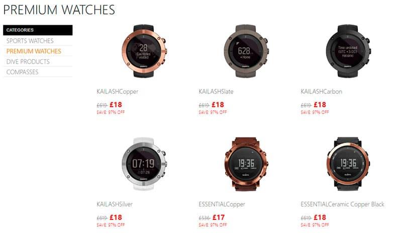 Suuntoshop.online Fake Shop Online Watches Scam