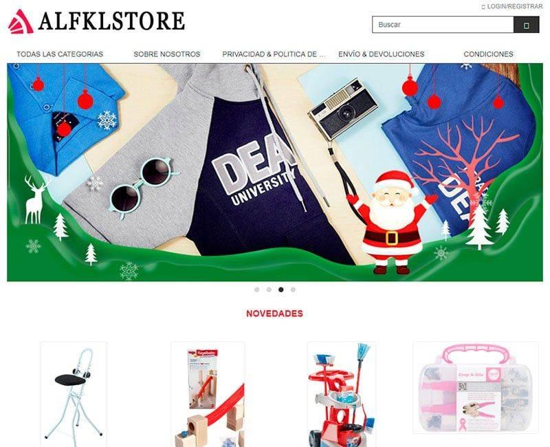 Alfklstore.com Tienda Online Falsa Multiproductos