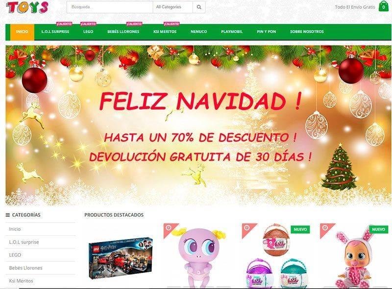 Toyscv.com Tienda Falsa Online Juguetes