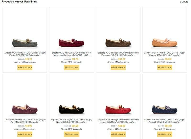 Acasavalencia.es Tienda Falsa Online Zapatos