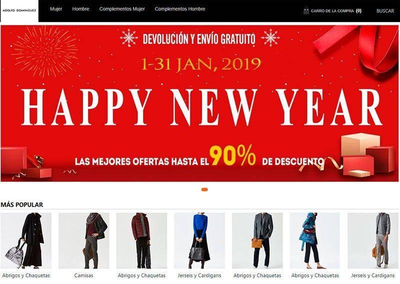 Adolfodominguezes.com Tienda Falsa Online Adolfo Dominguez