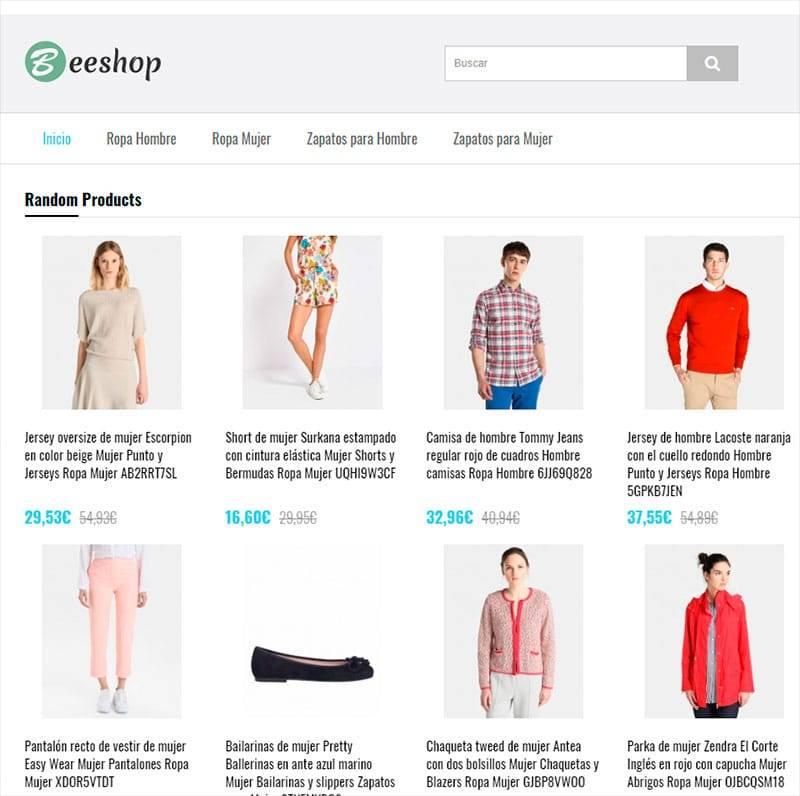 Cinered.es Tienda Falsa Online Moda