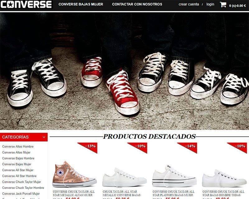 conversechucktaylor.es tienda falsa Converse