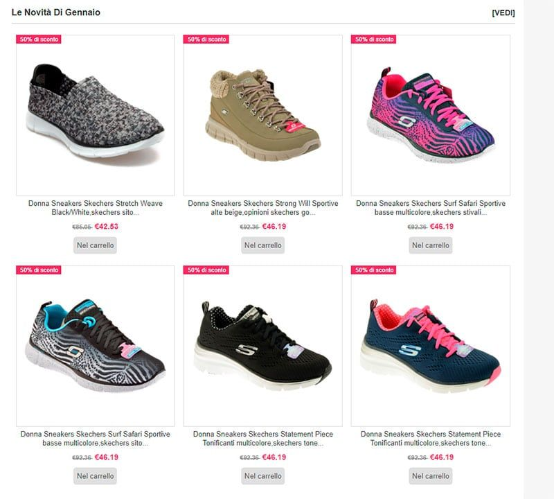 skechers online shopping