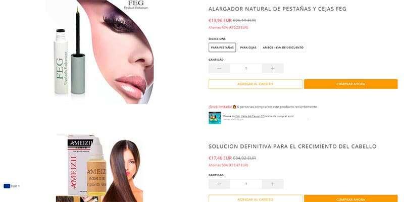 Intrepidashop.com Tienda Falsa Online