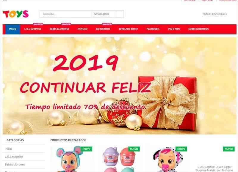 lottotoys.com tienda online falsa de juguetes