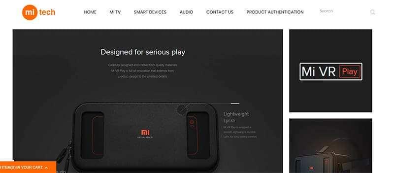 mi-tech.store Tienda Falsa Online Xiaomi