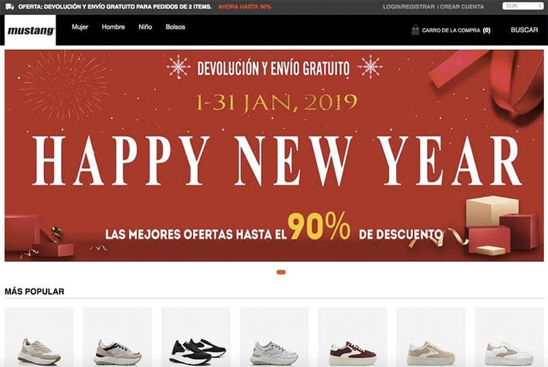 Mustangatienda.com Mustangatienda.com Fake Online Shop Mustang