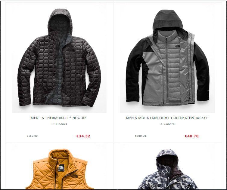 Norzz.com Fake Online Shop North Face