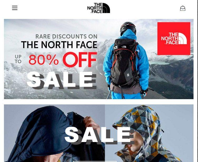 Norzz.com Tienda Falsa Online North Face
