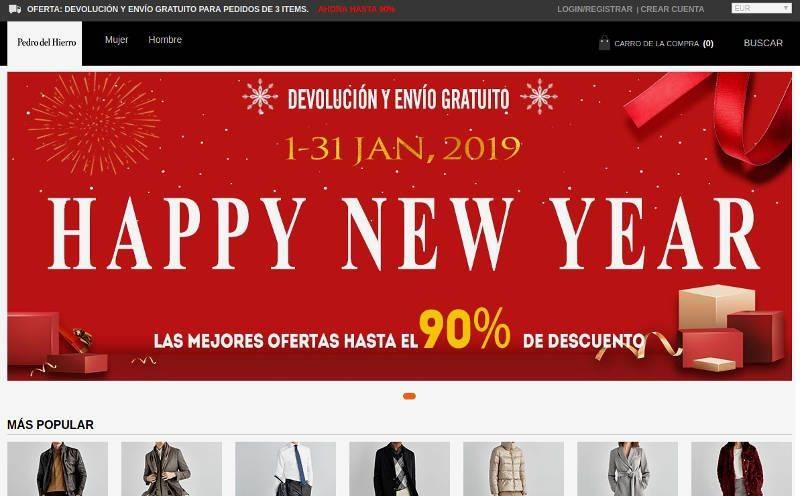 Oiyjut.ml Tienda Online Falsa Pedro Del Hierro