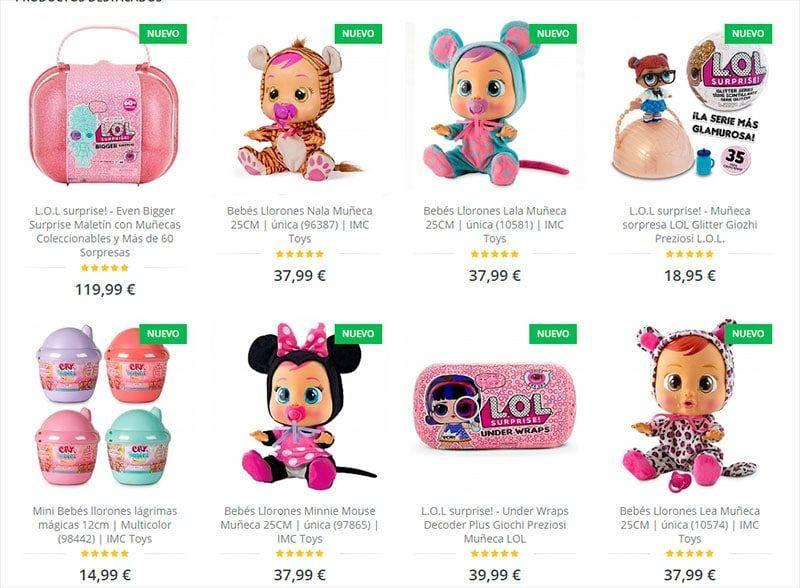 Vjuguete.com Tienda Online Falsa