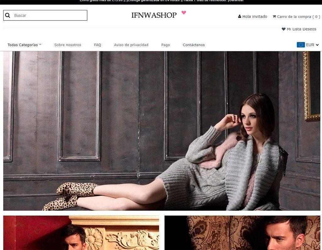 Ifnwashop.com Tienda Falsa Online Multiproducto