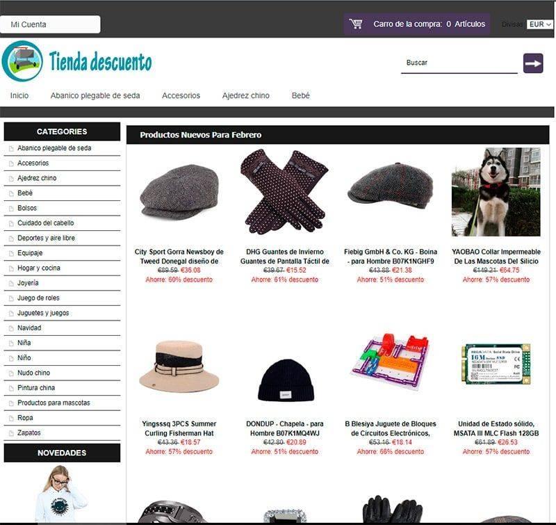 Peluqueriaprincesa19.es Tienda Falsa Online Multiproducto