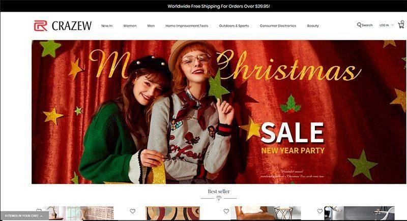 Crazew.com Tienda Falsa Online Multiproducto