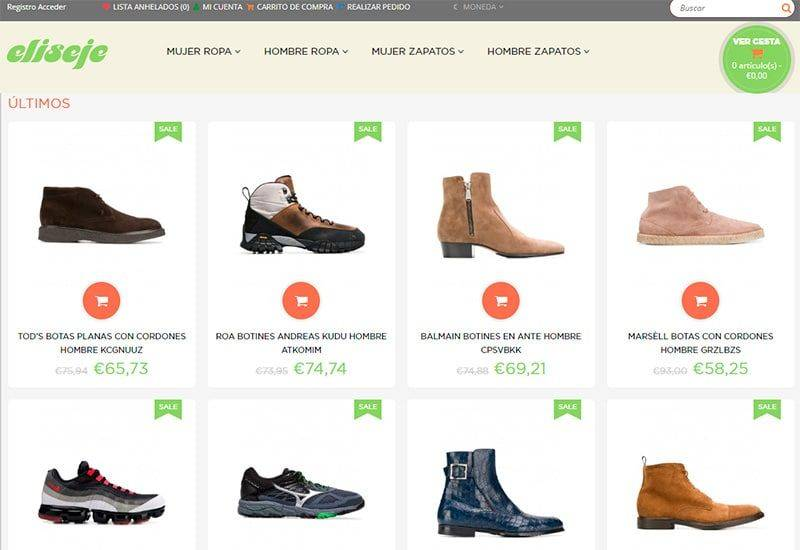 Elisejensart.com Tienda Falsa Online Moda