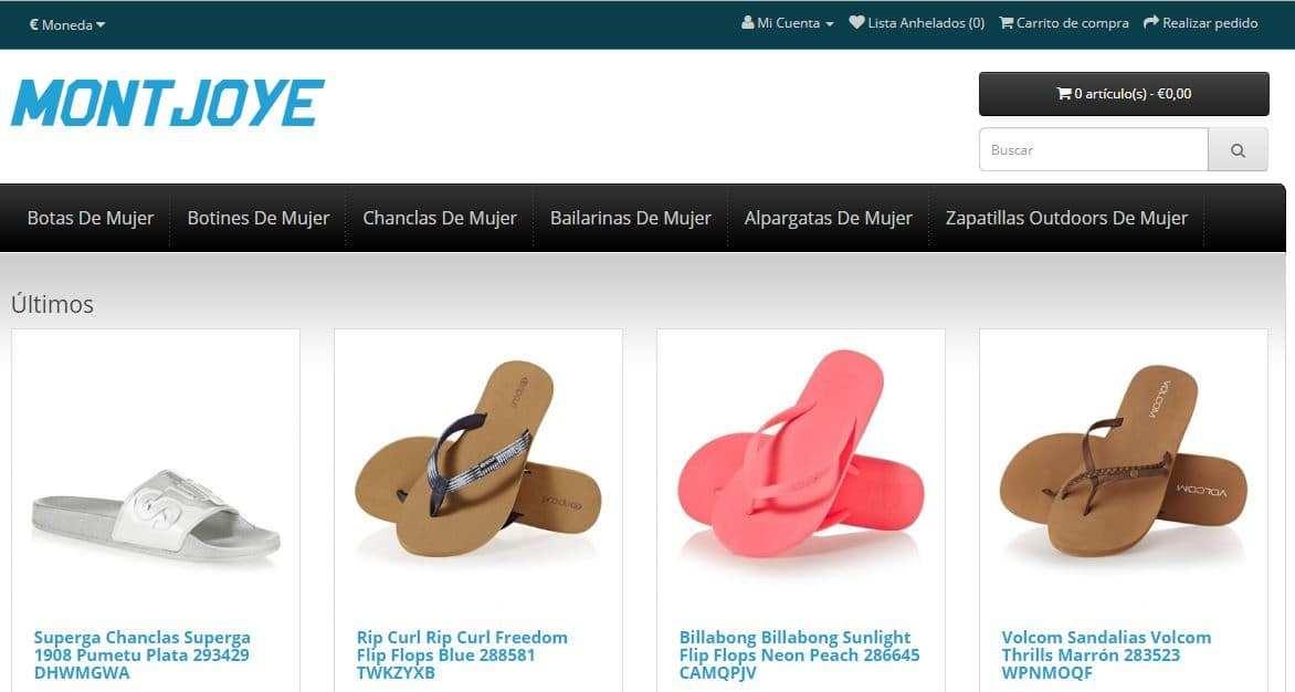 Montjoyeuxblog.com Tienda Falsa Online Calzado