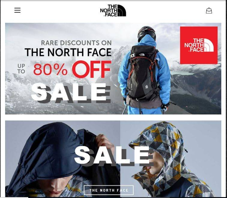 Norct.com Tienda Falsa Online North Face