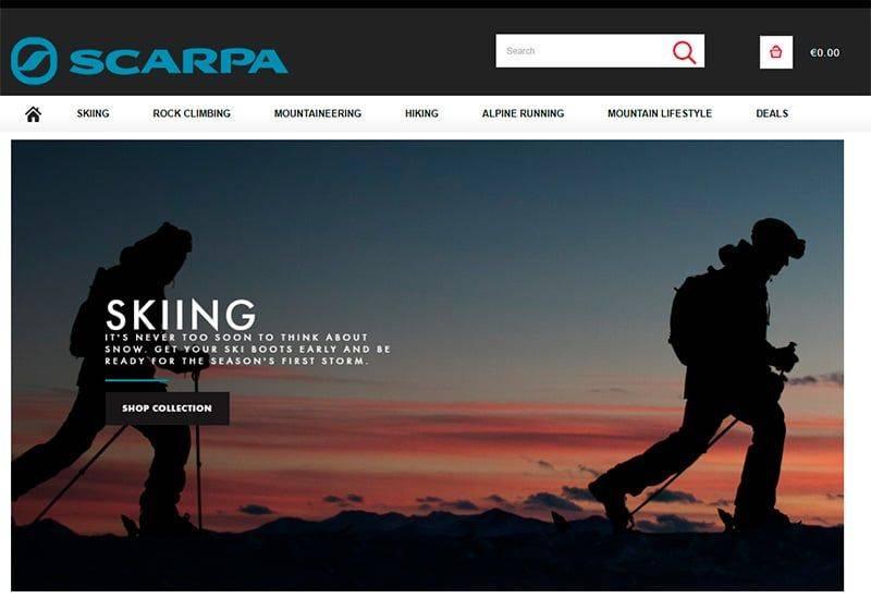 Scarpas.shop Tienda Falsa Alpinismo Scarpa