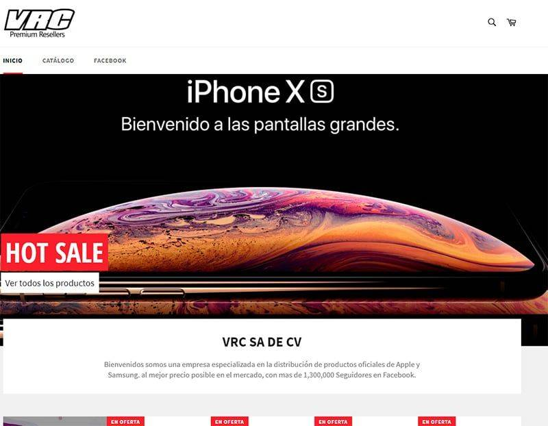 Vrcsadecv.com Tienda Falsa Online Apple Samsung
