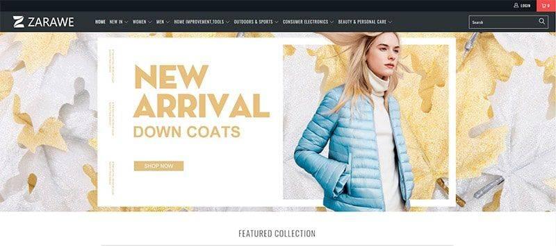 Zarawe.com Tienda Falsa Online Multiproducto