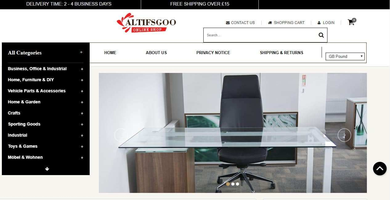 Altifsgoods.xyz Tienda Online Falsa Multiproducto